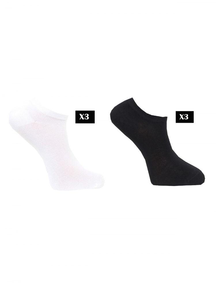 Strumpor capital sneakers 3-pack, 36-45